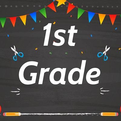 1st Grade Label 1