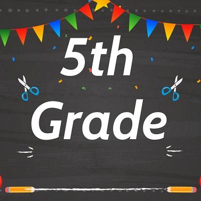 5th Grade Label 1