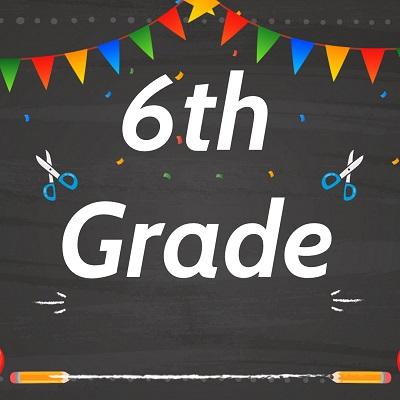 6th Grade Label 1