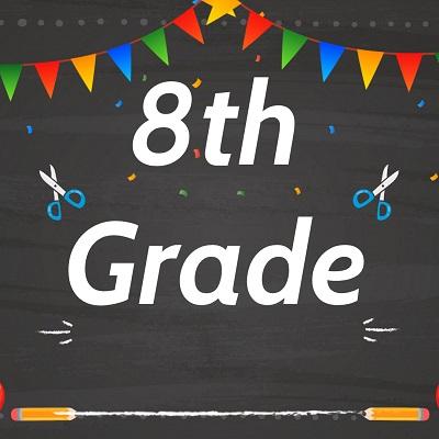 8th Grade Label 1